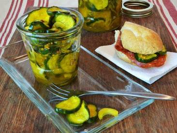 Refrigerator Bread & Butter Pickles!