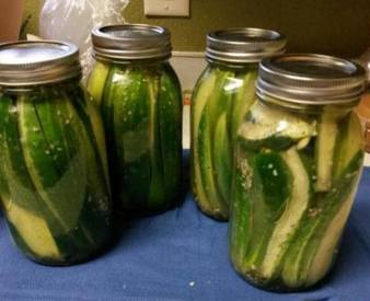 Copycat Claussen Pickles!