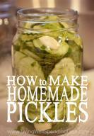Yummy Homemade Pickles!