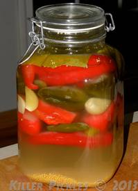 Killer Pickled Peppers Hot Sauce!
