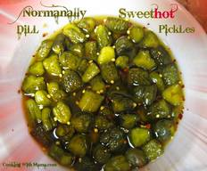 Normanally Sweet Hot Dill Pickles!