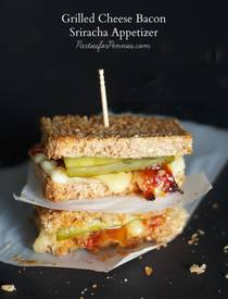 Sriracha Bacon Pickle Grilled Cheese!