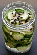 Salt & Pepper Garlic Pickles!