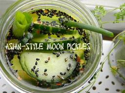 Asian Style Moon Pickles!