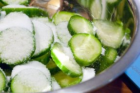 Salt Kirby Cucumber Pickles!