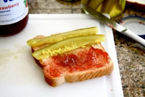 Pickled Pb & Jelly Sandwich!