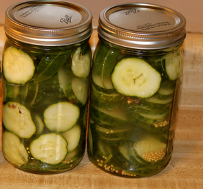 Healthy Dill Pickles!