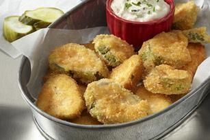 Ritz Fried Pickles!