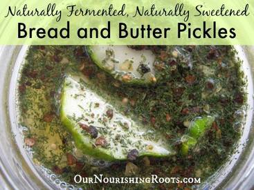 Sweet Bread & Butter Pickles!