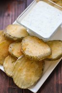 Beer Battered Fried Pickles!
