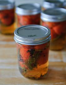 Cherry Tomato Pickles!