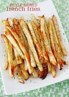 Pickle Brined French Fries!