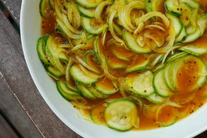 Zuni Cafe Zucchini Pickles!