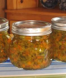 Zucchini Pickle Relish!