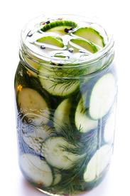 Easy Refrigerator Pickles!