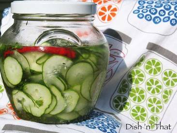 Refrigerator Pickle Chips!
