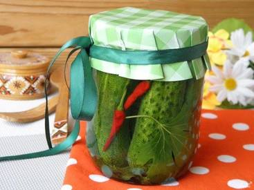 Spicy Pickled Cucumbers!