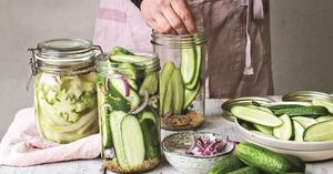 Cucumber Pickles!