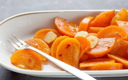 Quick Pickled Persimmons!