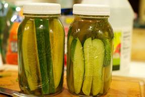 Charlie's Fridge Pickles!
