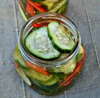 Homemade Sweet Pickles!