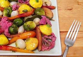 Marinated Baby Vegetables!
