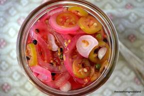 Pickled Red Onions!