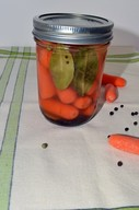 Lemony Pickled Carrots!