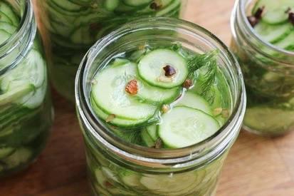 Refrigerator Dill Pickles!