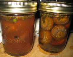 Italian Pickled Mushrooms