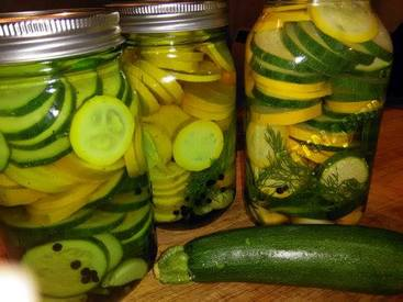 Zucchini Pickles!
