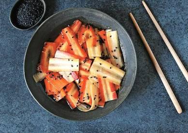 Japanese Carrot Pickles!