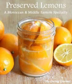 Moroccan Preserved Lemons!