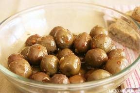 Homemade Mediterranean Preserved Olives!