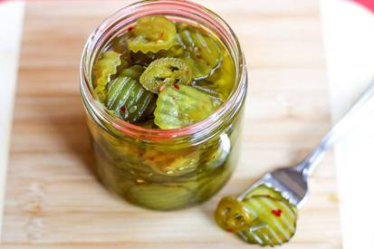 Fire & Ice Pickles!