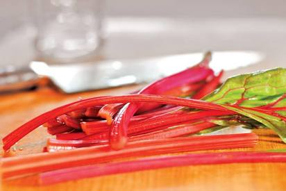Pickled Beet Stems!