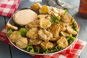 Best Copycat Fried Pickles!