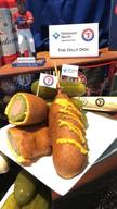 Texas Rangers Dilly Dog!