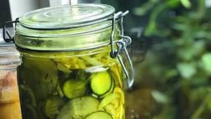 Cool Bread & Butter Pickles!