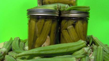 Evelyn's Pickled Okra!