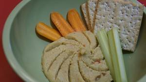 Sweet Tangy & Spicy Pickle Hummus!
