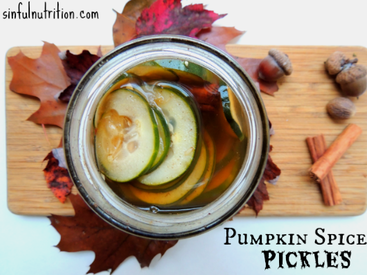 Pumpkin Spice Pickles!