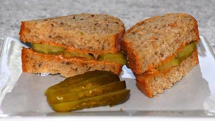 Peanut Butter & Pickles!