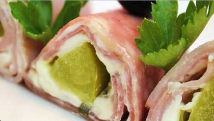 Pickle Roll-ups!
