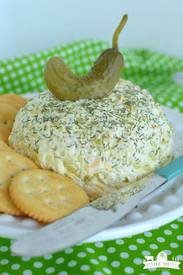 Dill Pickle Cheeseball!
