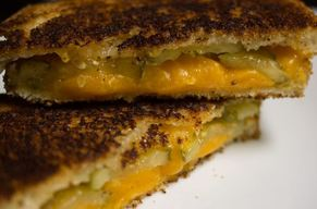 Pickle Grilled Cheese!