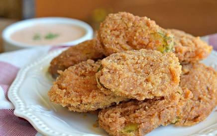 Extra Crispy Deep Fried Pickles!