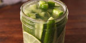 Gin & Tonic Pickles!