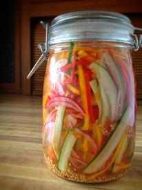 Refrigerated Pickled Salad!