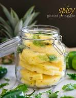 Spicy Pickled Pineapple!